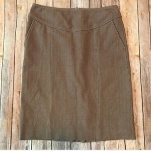 Banana Republic Stretch Skirt Size 2